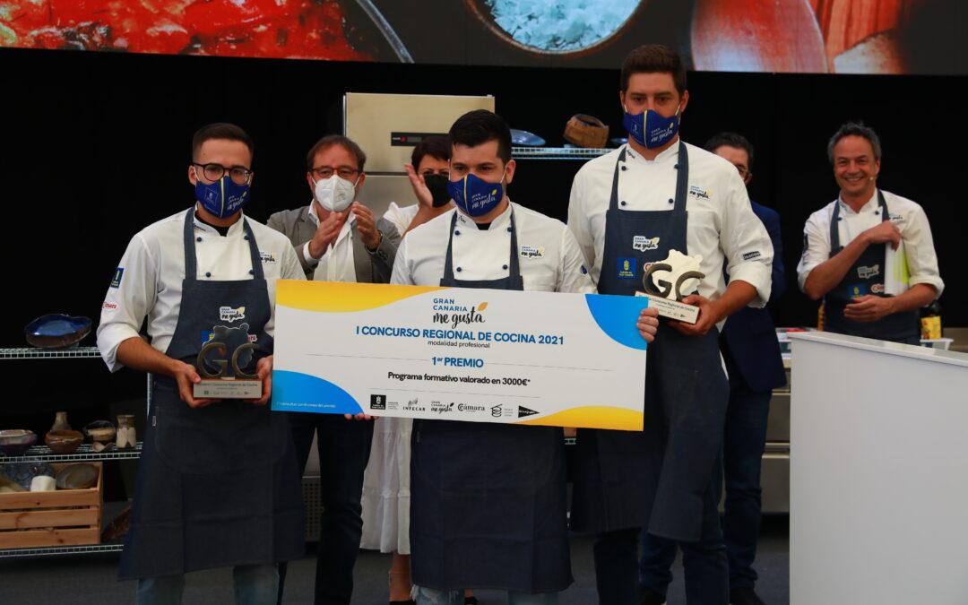 El Concurso Regional de Cocina pone el broche de oro a la tercera jornada de la Feria Gran Canaria Me Gusta