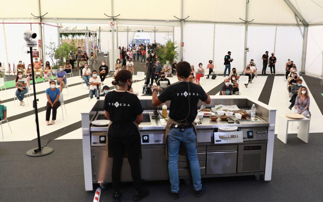 La fusión de sabor de los productos locales estimula los sentidos en la segunda jornada de la Feria Gran Canaria Me Gusta
